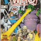 Doctor Who (1984 series) #18 Marvel Comics March 1986 GD/VG