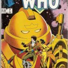 Doctor Who (1984 series) #7 Marvel Comics April 1985 VG