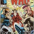 Doctor Who (1984 series) #12 Marvel Comics Sept 1985 VG