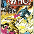 Doctor Who (1984 series) #20 Marvel Comics May 1986 VG