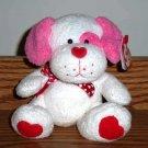 TY Beanie Babies Lovesick the Valentine's Day Puppy Dog