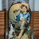 Vintage Norman Rockwell Coca-Cola Collector's Glass