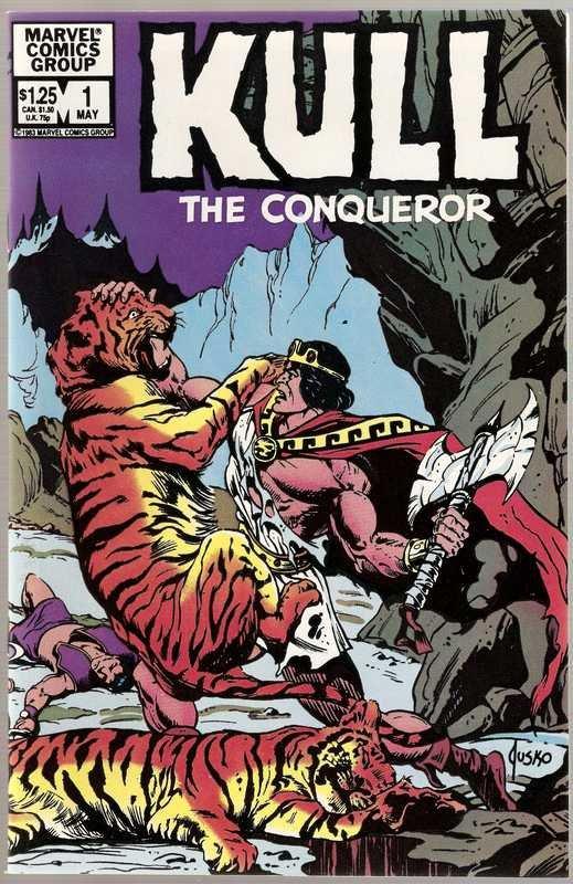 Kull the Conqueror (1982 series) #1 Marvel Comics Dec 1982 NM