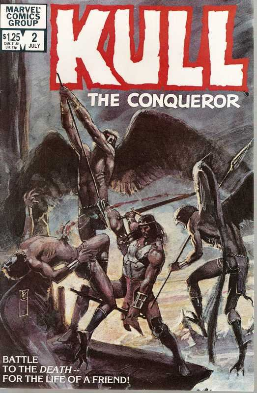 Kull the Conqueror (1982 series) #2 Marvel Comics March 1983 FN/VF