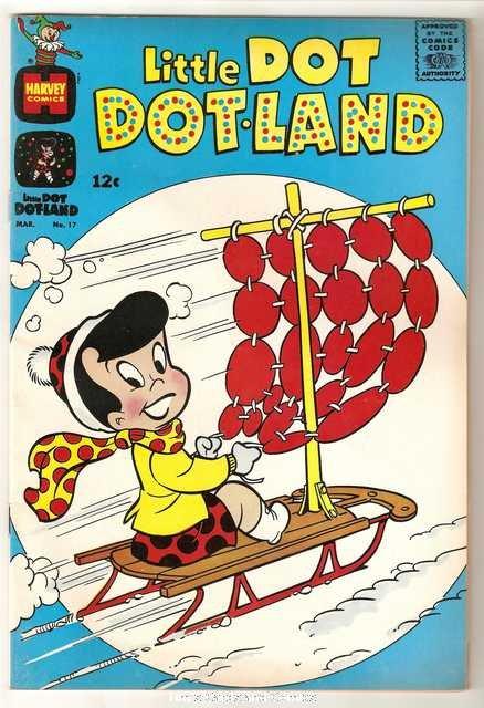 Little Dot Dotland #17 Harvey Comics March 1965 Very Good