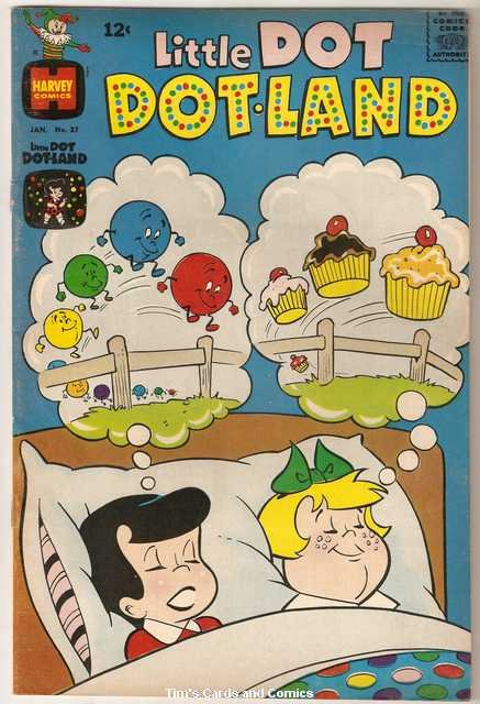 Little Dot Dotland #37 Harvey Comics Jan. 1969 Very Good