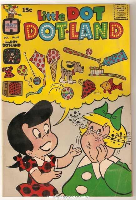 Little Dot Dotland #42 Harvey Comics Oct. 1969 Very Good