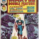 Marvel Double Feature (1973 series) #19 Captain America Iron Man Marvel Comics Dec. 1976 FN