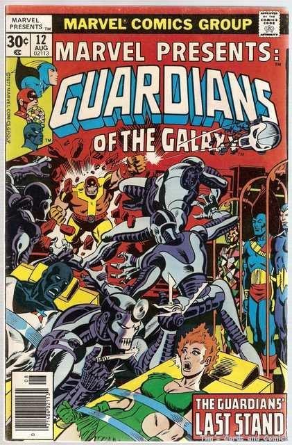 Marvel Presents (1975 series) #12 Guardians of the Galaxy Marvel Comics Aug. 1977 VG