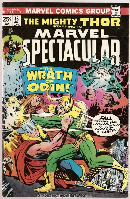 Marvel Spectacular (1973 series) #18 Thor Marvel Comics Oct.1977 VG