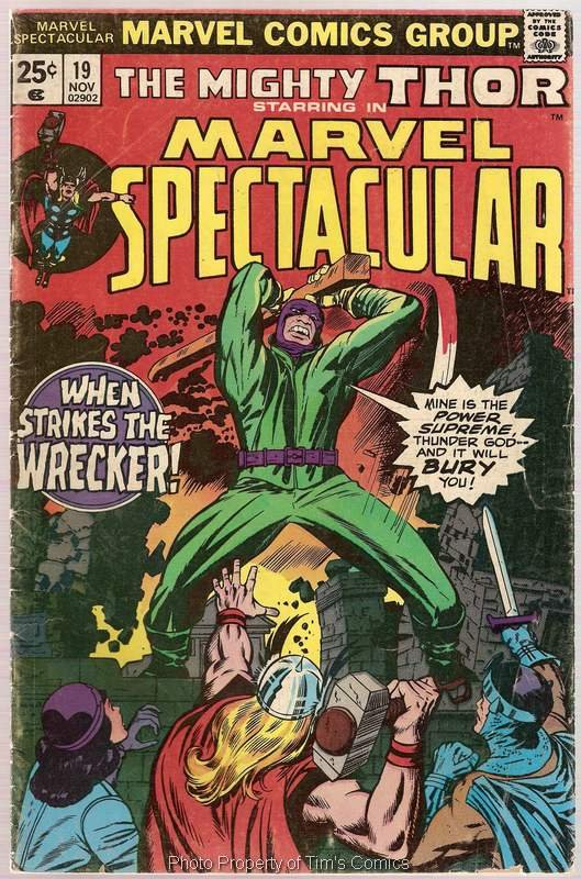 Marvel Spectacular (1973 series) #19 Thor Marvel Comics Nov.1977 GD