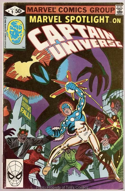 Marvel Spotlight (1979 series) #9 Captain Universe Marvel Comics Nov 1980 FN