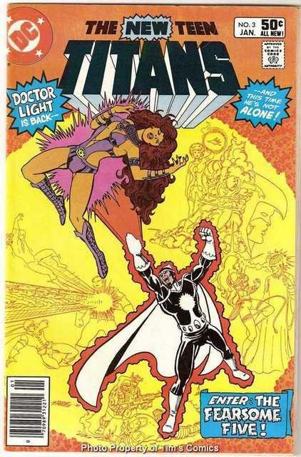 New Teen Titans (1980 series) #3 DC Comics Jan. 1981 Fine