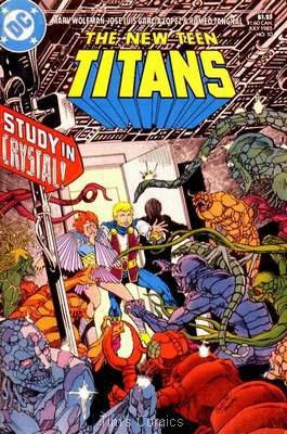 New Teen Titans (1984 series) #10 DC Comics July 1985 VF