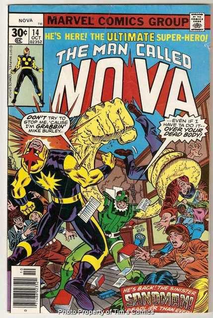 Nova (1976 series) #14 Marvel Comics Oct 1977 GD