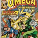 Omega the Unknown (1976 series) #9 Marvel Comics July 1977 VG/FN