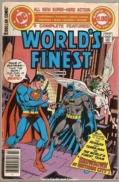 World's Finest #261 Superman Batman DC Comics March 1980 VG