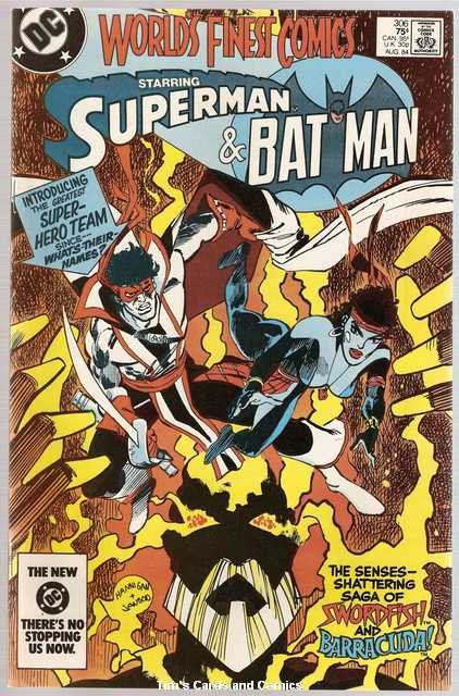 World's Finest #306 Superman Batman DC Comics Aug. 1984 FN/VF