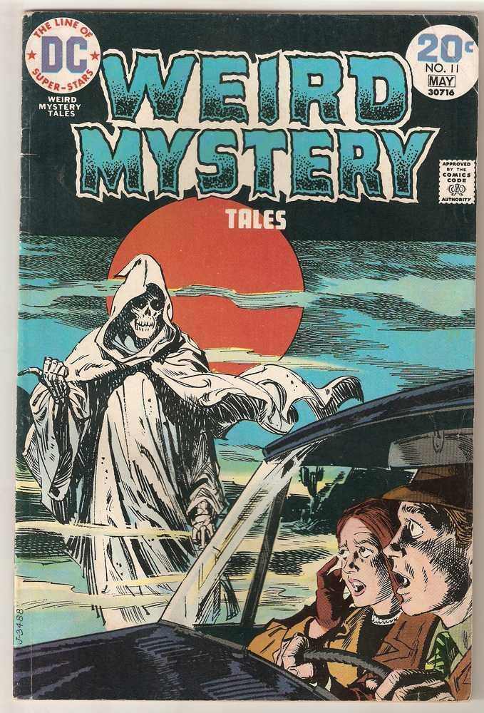 Weird Mystery Tales #11 DC Comics May 1974 GD