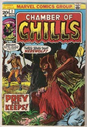 Chamber of Chills (1972 series) #7 Marvel Comics Nov. 1973 FR/GD