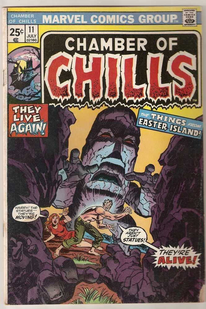 Chamber of Chills (1972 series) #11 Marvel Comics July 1974 GD