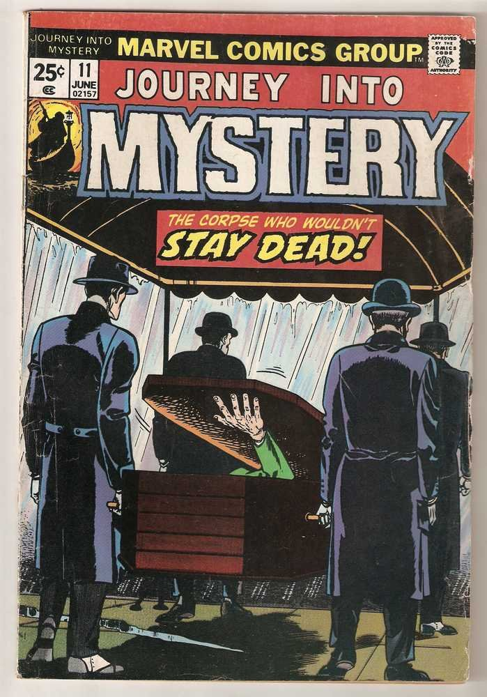 Journey into Mystery (1972 series) #11 Marvel Comics June 1974 GD/VG