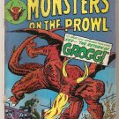 Monsters on the Prowl (1971 series) #23 Marvel Comics June 1973 GD