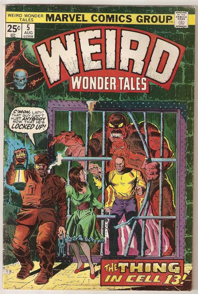 Weird Wonder Tales (1973 series) #5 Marvel Comics Aug 1974 GD
