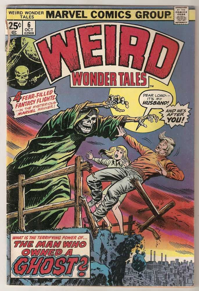Weird Wonder Tales (1973 series) #6 Marvel Comics Oct 1974 GD