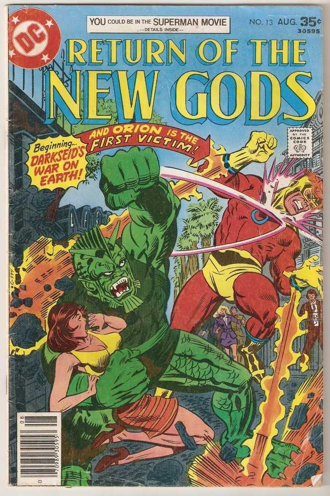 New Gods (1971 series) #13 DC Comics Aug. 1977 FR/GD