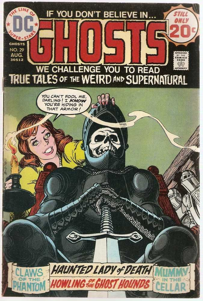 Ghosts #29 DC Comics Aug 1974 FN