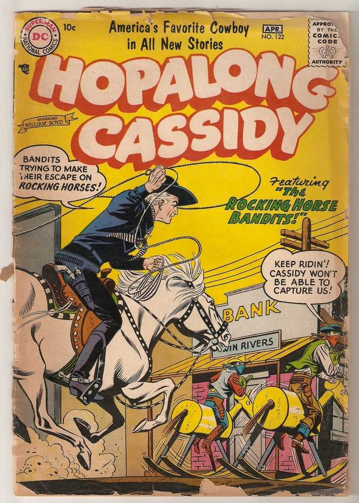 Hopalong Cassidy #122 DC Comics April 1957 FR