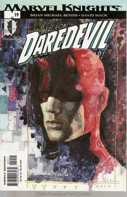 Daredevil (1998 series) #19 Marvel Comics Aug 2001 FN