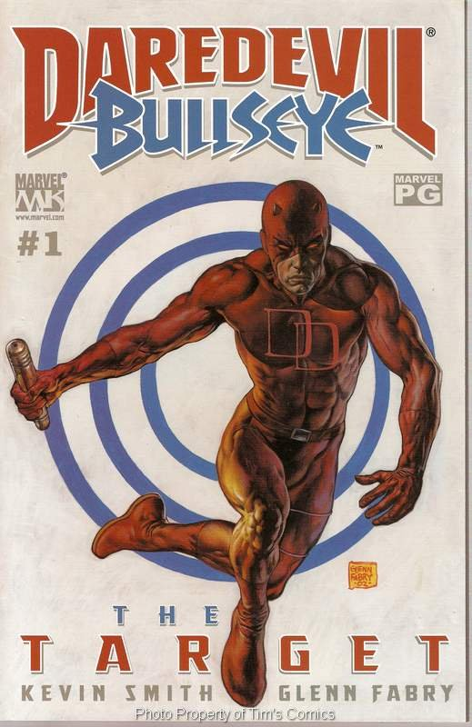 Daredevil The Target #19 Marvel Comics Jan. 2003 FN