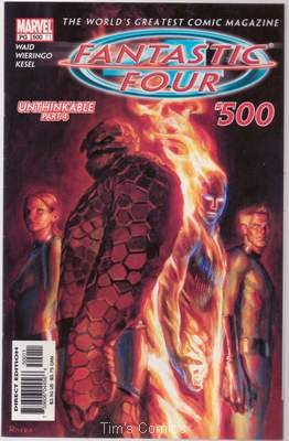 Fantastic Four (1961 series) #500 Marvel Comics 2003 VF