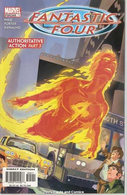 Fantastic Four (1961 series) #505 Marvel Comics Dec. 2003 VF
