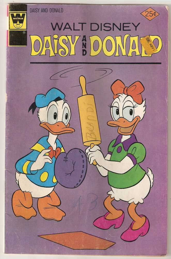 Daisy and Donald (1973 Whitman) #18 Aug. 1976 GD