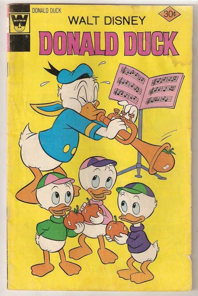 Donald Duck (1972 Whitman) #176 Oct. 1976 GD