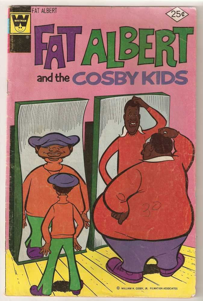 Fat Albert and the Cosby Kids (1974 Whitman) #11 Feb 1976 GD