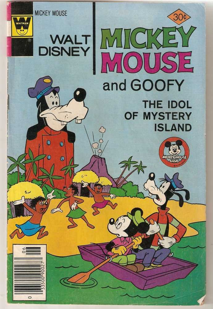 Mickey Mouse (Whitman) #172 June 1977 Walt Disney VG