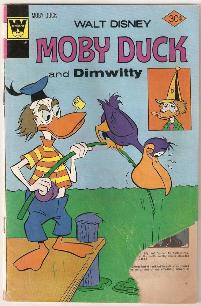 Moby Duck (Whitman) #26 April 1977 Walt Disney FR