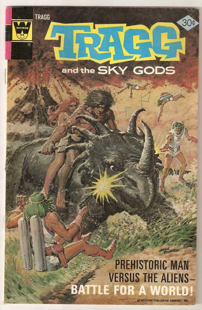 Tragg and the Sky Gods (1975 Whitman) #7 Nov. 1976 VG