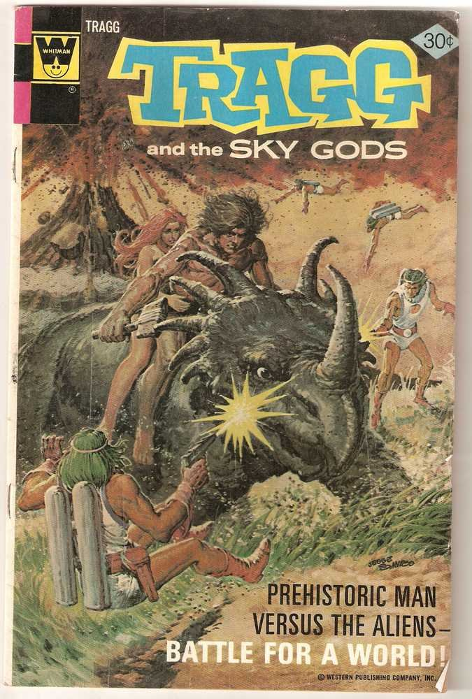 Tragg and the Sky Gods (1975 Whitman) #7 Nov. 1976 GD/VG