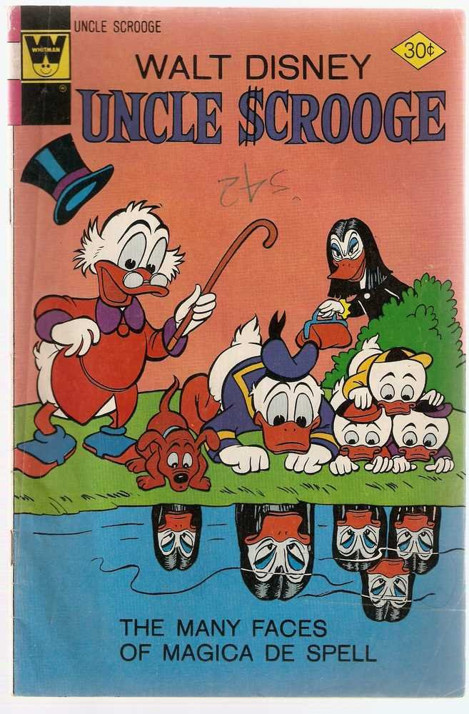 Uncle Scrooge (1972 Whitman) #138 March 1977 Walt Disney GD/VG