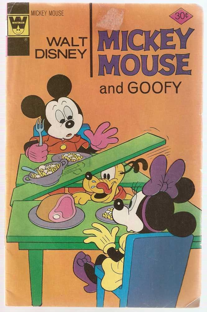 Mickey Mouse (Whitman) #166 Aug. 1976 Walt Disney GD