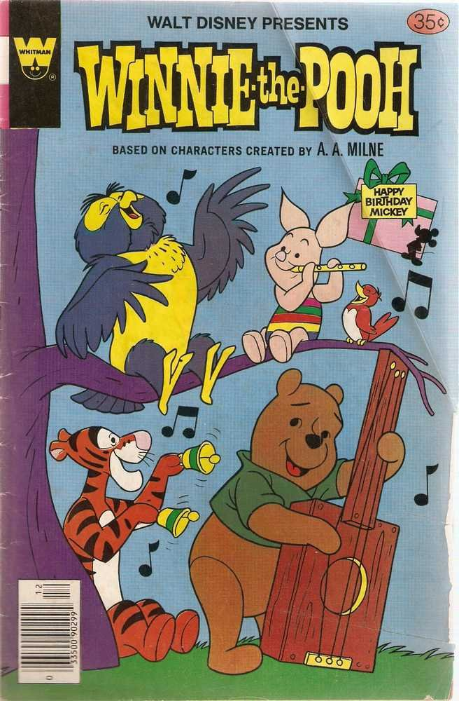 Winnie the Pooh (Whitman) #10 Dec. 1978 Walt Disney GD/VG