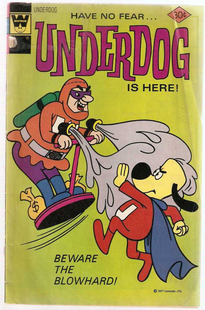 Underdog (Whitman) #12 April 1977 GD