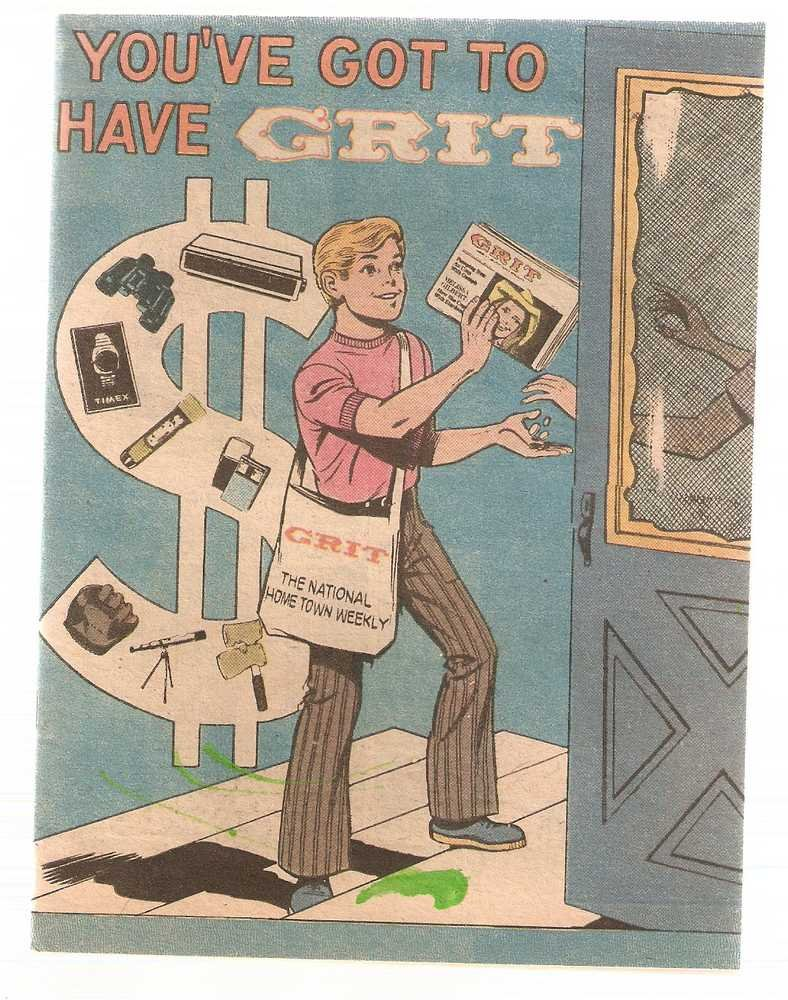 You've Got to Have Grit Promotional Comic 1977 Printing