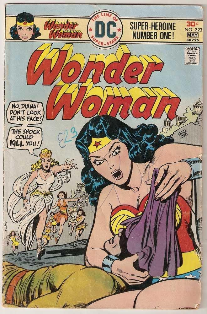 Wonder Woman (1942 series) #223 DC Comics May 1976 GD