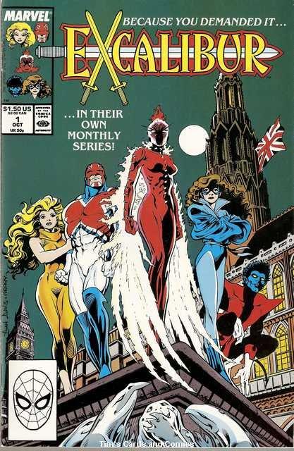 Excalibur (1988 series) #1 Marvel Comics Oct. 1988 VG